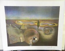 "Time Biblical Progression Fine Art Signed Lithograph Salvador Dali 27"" x 22"""