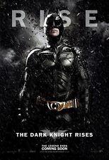 "The Dark Knight Rises movie poster  : 11"" x 17"" - Batman poster"
