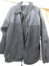 USGI Black Cold Weather Synthetic Fleece Jacket Shirt size Medium