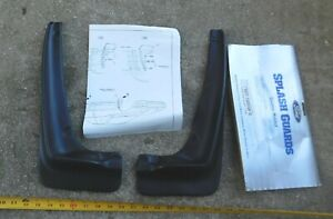 NOS PAIR FRONT SPLASH GUARDS FOR 1989-90 FORD PROBE GL & FORD PROBE LX NEW 1990