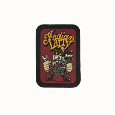 Biker Chopper Indian Larry indiani MOTORCYCLE echt Leder ricamate LEATHER PATCH