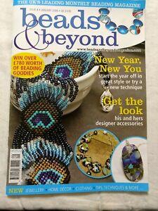 """beads & beyond"" magazine (January 2008)"