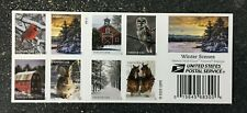 2020USA Forever Winter Scenes - Booklet of 20  Mint