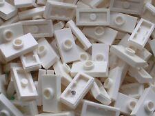 10 x LEGO White Plate ref 3794 / Set 10189 21006 10177 10196 10214 10212 10215..