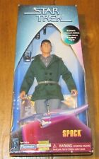 "Spock Figure Star Trek City on the Edge Of Forever 9"" 1997 NIB Playmates KB Toys"