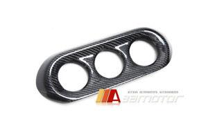Carbon Fibre AC Control Panel Cover fit for Mitsubishi Lancer Evolution X EVO 10
