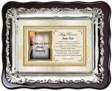 Picture Frame Memorial Sympathy Photo Plaque Remembrance Bereavement Condolence