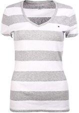 Tommy Hilfiger Damen T-Shirt, Signature T-shirt, Original, Größe: X-Small
