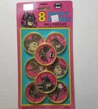 1991 Unique Batman Returns Party Favors Ball Puzzles  NOC