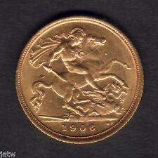 Australia.  1906 Sydney - Half Sovereign.. Near Full Lustre..  gEF/aU