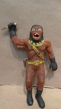 "1973 Ben Cooper Planet Of The Apes Jiggler Warrior 6"" Rubber Figure Toy"