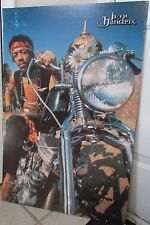 Jimi Hendrix on Motorcycle Promo Poster 23 X 35 on Poster Board 1998