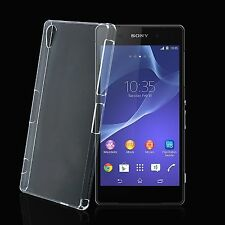 Ultra Slim Transparent Rigid Hard Plastic Back Case For Sony Xperia Z3 Compact