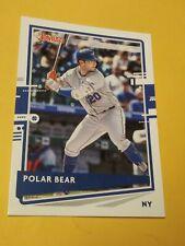 2020 Donruss Pete Alonso Polar Bear Name Variation #204 🔥🔥 Mets