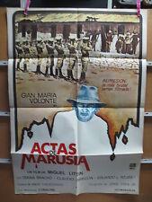 A3837 Actas de Marusia Gian Maria Volonté,  Diana Bracho,  Claudio Obregón,  Art