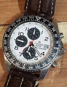 Vintage Citizen Promaster WR100 Chronograph 0610-H03299 K 1996 - 1998