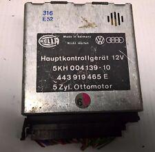 Audi 100 200 Turbo C3 Typ44 Hauptkontrollgerät Steuergerät Checkpaket 443919465E