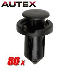 80x Bumper Cover Trim Plastic Push Retainer Rivet for Infiniti M35 M37 M45 M56