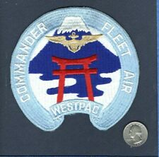 Original Comfairwestpac Commander Flotte Luft Westpac Atsugi Navy Squadron Patch