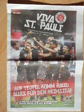 Fußball Stadion(magazin)zeitung FC St.Pauli - 1.FC Kaiserslautern 13.10.2017