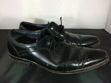 Mens Goodwin Smith Black Leather Formal Lace Up Shoes Size UK 10 #FC19-CF