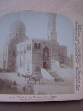 Stereo View Stereo Card - Egypt  A/F Faded
