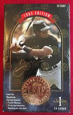 1993 The Leaf Set Baseball Series 1 Factory Sealed Box  36/14