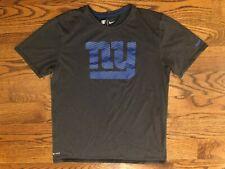 New York Giants Football The Nike Tee Athletic Cut Gray T-Shirt Men's Medium