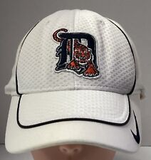 newest 1cc89 2956c Detroit Tigers Baseball Cap Hat White White One Size Nike Official MLB  Preowned