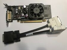 XFX Nvidia GeForce 8400GS Video Card 512MB DMS-59 DUAL DVI TV PCI-E & CABLE