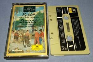 ROSSINI BARBER OF SEVILLE DONIZETTI DON PASQUALE classical music cassette C0183