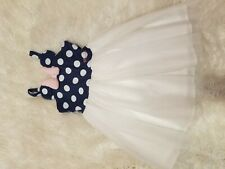 Girls Disney Minnie Mouse Dress Size 6x Tulle Skirt