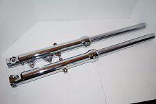Chrome 39mm Fork Tube Assemblies Front End for  XL Sportster FXR FXD 1988-1999