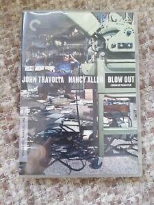 BLOW OUT (CRITERION COLLECTION) DVD REGION 1 BRIAN DE PALMA VGC