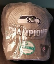 Seattle Seahawks Super Bowl Xlviii Champions Hat /Cap New Other New Era 9Forty