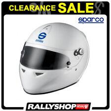 SPARCO ADV K KART Helmet FULL FACE size S White SNELL SALE !!!