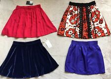 Cooperative, Leifscottir, Frenchi, Am App. Women's Mini Skirts, Lot of 4, Size S