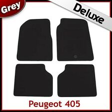 PEUGEOT 405 1987 - 1993 1994 1995 1996 1997 Tailored LUXURY 1300g Car Mats GREY