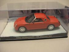 James Bond COLLECTION - FORD THUNDERBIRD DIE ANOTHER DAY -  in Vitrinenbox
