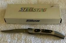 New Genuine Stag Handle Small Texas Toothpick Stainless Steel Stag Knife Ss7007