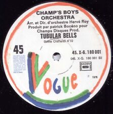 "The Champs' Boys Orchestra ‎– Tubular Bells - 12"" INCH"