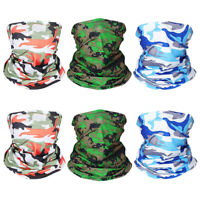 6pcs Face mask Neck Gaiter Headband Bandana Seamless Scarf Sun UV Protection
