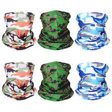 6pcs Face mask Neck Gaiter Headband Bandana Seamless Scarf Sun UV Protection