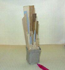Miniature Scrap Wood Pile for DOLLHOUSE Workroom/Garage 1/12 Scale Miniatures