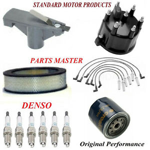 Tune Up Kit Filters Cap Wire Plugs Fit DODGE RAM 1500 VAN V6; 3.9L 1999-2003