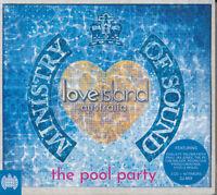 MINISTRY OF SOUND Love Island Australia The Pool Party 2CD BRAND NEW Digipak