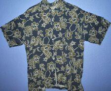 Aloha Hawaiian Island Tropical Party Vacation Vintage Tiki Surf Casual Shirt