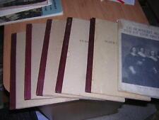 1950.lot 7 livres art belge.Peire  Camus Courtens Saverys Peire.Belgique