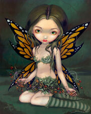 ART PRINT Fairy with Dried Flowers - Jasmine Becket-Griffith 14x11 Gothic Poster