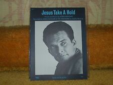 Merle Haggard sheet music Jesus Take a Hold 1970 4 pages (VG+ shape)